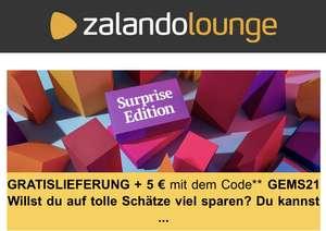 [MINBW 60€] Zalando Lounge 5€ Gutschein und kostenloser Versand bis 26.06. gültig
