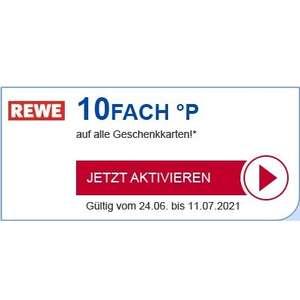 [Payback] 10fach Punkte bei REWE auf Geschenkkarten / Gutscheine (personalisiert)