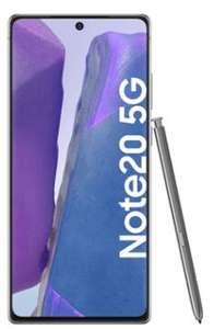 Samsung Galaxy Note20 5G 8/256GB im O2 Free M 20GB LTE 225Mbit/s für 4,95€ einmalig, 29,99€ monatlich