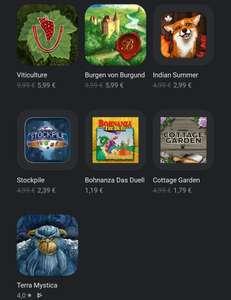 [Google Play] Mehrere digitale Brettspiele von Digidiced z.b Terra Mystica, Burgen von Burgund, Viticulture