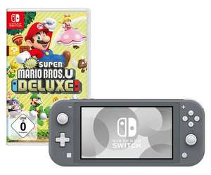 [Westwing] Nintendo Switch Lite Grau + Spiel Super Mario Bros. U Deluxe