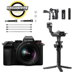 Panasonic Lumix S Sammeldeal - z.B. S5 Systemkamera inkl. 20-60F3,5-5,6 Objektiv & DJI Ronin RSC2 Gimbal   IPLN FR
