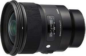 SIGMA 24mm f/1.4 DG HSM Art Objektiv für Sony E Festbrennweite