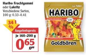 Haribo Fruchtgummi oder Lakritz verschiedene Sorten 0,65€ statt 0,99€ und M&M's verschiedene Sorten 1,99€ statt 3,59€ ab 28.06 Globus