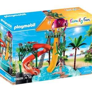 PLAYMOBIL 70609 Aqua Park mit Rutschen (132 Teile)