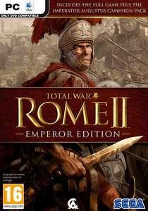 Total War: ROME II - Emperor Edition für 7,77€ / DLC: Empire Divided für 4,54€ [Gamesplanet] [STEAM]
