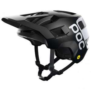 POC Kortal Race MIPS // Fahrradhelm (MTB) - schwarz, weiß, grau, minzgrün - M/L & L/XL