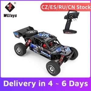 Wltoys 124018 4WD Ferngesteuertes Hochgeschwindigkeitsauto(Chassis aus Aluminiumlegierung)