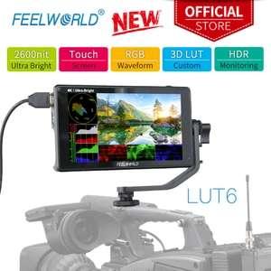 Feelworld LUT6 - Fieldmonitor Kamera-Monitor 2600nits Touchscreen für DSLR [nur heute!] [Aliexpress Spanien]