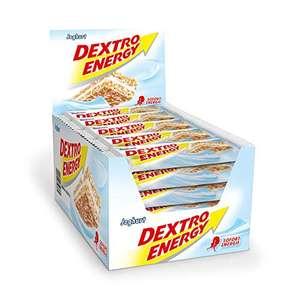"""Amazon Prime: 25 Riegel(je 53Cent)Dextro Energy """"Joghurt"""" oder """" Erdbeere"""" , jeder Riegel wiegt 35 Gramm"""