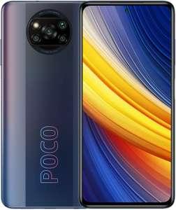 "Xiaomi Poco X3 Pro 6,67"" FHD+ Dual-SIM Smartphone 6/128GB (Snapdragon 860, 551K AnTuTu, 5.160 mAh, 48 MP Quad-Cam, NFC, USB-C) Phantom Black"
