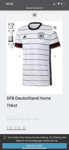 DFB Deutschland Home Trikot