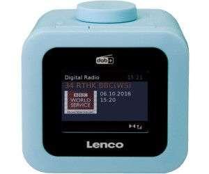 LENCO CR-620 Radiowecker, DAB+, Blau [Saturn Abholung]