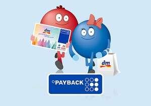 [dm Payback Punkte-Wochen] Payback-Punkte einlösen und 10% als Extra-Punkte zurückbekommen