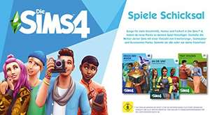 Die Sims4 - viele Erweiterungen & Bundles auf Amazon.de reduziert (EUR 9,99 statt EUR 19,99) - Origin-PC-Codes