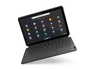 "[WHD FR] Lenovo Chromebook 10.1"" Laptop, Tablet, Touch. 64 GB blau / graue Tastatur"