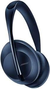 Bose Noise Cancelling Headphones 700 (Over-Ear, 20h Akku, Bluetooth, Klinke, NFC, USB-C, ANC, Mikrofon) Dunkelblau oder Silber