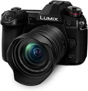 Panasonic Lumix G9 MFT Systemkamera inkl. 12-60mm F3,5-5,6 Objektiv