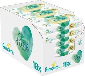 Pampers Coconut Pure Feuchttücher Babymarkt