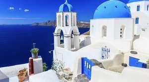 2 Personen, Juli oder August, 1 Woche Santorini Griechenland Lastminute mit Flügen und sehr gutem Hotel (Pool, 250m vom Strand)