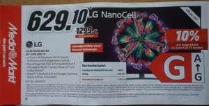 [Media Markt] Gutscheinheft: Fernseher / Smart TV gültig 18.07.-03.08.2021 LG 55 NANO 867NA