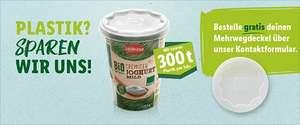 GRATIS Mehrwegdeckel für Joghurt