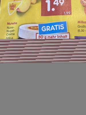 Netto Nutella 500g 1,79€ ( 3,58/kg)