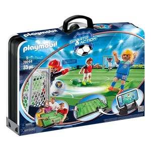 [Amazon & Kaufland online] PLAYMOBIL Fußballarena & Spielfiguren - bisheriger Bestpreis