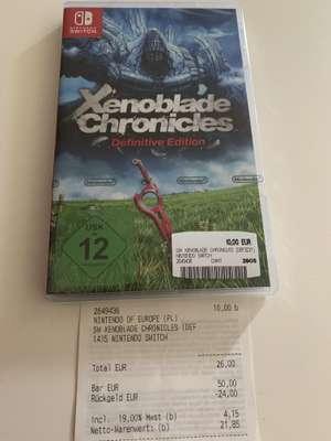 Xenoblade Chronicles Definitive Edition Switch [Lokal Media Markt Porta Westfalica]