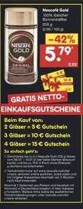 4x Nescafé Gold für effektiv 8,96