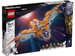 LEGO Marvel Das Schiff der Wächter für 99,79 Euro (76193) mit Benutzung des Newsletter-Gutscheins [Saturn]