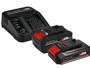 Einhell Power X-Change Akku & Ladegerät Starter-Kit mit 2 Akkus (2,5Ah und 4Ah)