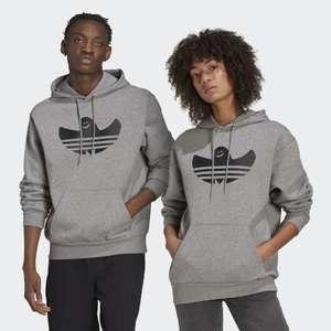 adidas SHMOOFOIL Logo Hoodie in Grau (S-XL)