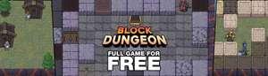 [Indiegala] Sandbox-Roguelike-Game Block Dungeon kostenlos (Windows PC)