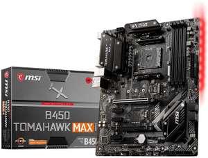 MSI B450 Tomahawk MAX II - ATX Gaming-Mainboard (AMD AM4, DDR4 l, M.2 USB-C, 2x PCI-E x16, HDMI)
