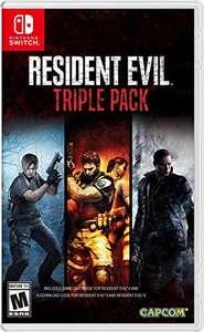 [Amazon.com] Resident Evil 4,5,6 - Triple Pack - Nintendo Switch