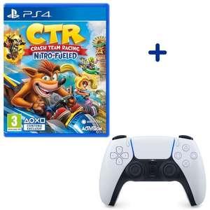 Crash Team Racing: Nitro-Fueled + Sony PS5 DualSense Wireless Controller für 84,99€ (Cdiscount Volonte)