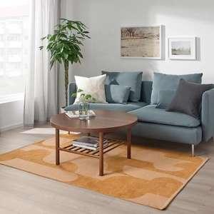 [IKEA Kiel] RÖDASK Teppich flach gewebt, hellbraun 133x195 cm, solange der Vorrat reicht.