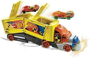 Hot Wheels GCK39 - Super Stunt Transporter, inkl. 1 Hot Wheels Auto, ab 3 Jahren [Amazon Prime]