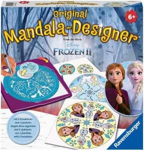 Ravensburger Mandala Designer Frozen 2 29026, Zeichnen lernen mit Anna, Elsa und ihren Freunden für Kinder ab 6 Jahren,