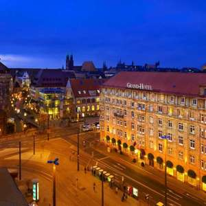 Nürnberg: 5*Le Méridien Grand Hotel - Deluxe-Doppelzimmer inkl. Frühstück, Parkplatz, Late-Check Out, Museum / gratis Storno / bis Sep 2022