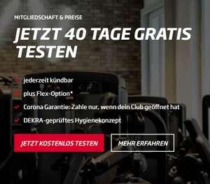 Fitness First 40 Tage gratis testen (Kündigung innerhalb der Testphase erforderlich)