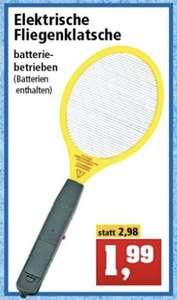 Elektrische Fliegenklatsche inkl. Batterien für 1,99€