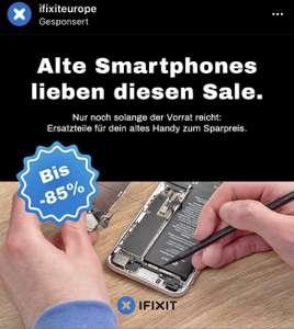 iFixit Ersatzteil-Sale für Smartphone-Oldies iPhone 7 Plus, Samsung S7 Edge und Huawei P