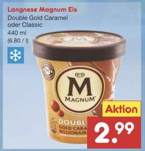 Magnum Double Gold Caramel Billionaire 440ml Becher [Netto MD SB-Kassen]