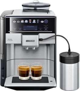 SIEMENS EQ.6 plus extraKlasse TE657F03DE Edelstahl Kaffeevollautomat[Expert]