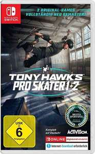 Nintendo Switch Tony Hawk Pro Skater 1+2