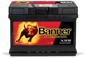 12V 60Ah 480A Banner Starting Bull 56009 Starterbatterie (51,45€ + Pfand + Versand)
