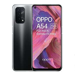 OPPO A54 5G Smartphone, 48MP AI Quad Camera with Ultra Night Video, 6.5 Inch 90 Hz FHD+ Neo Display, 5000 mAh Battery, 5G 5/64 black