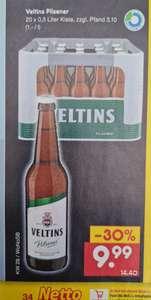 Veltins Pilsner 20x0,5 l zzgl Pfand UND Müller Froop 150 g für 0,29€ statt 0,59€ ab 15.07 Netto MD